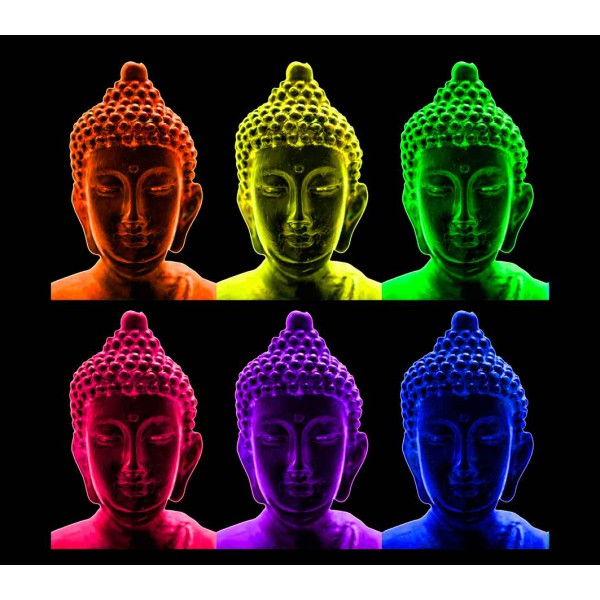 Будда в стиле Уорхол