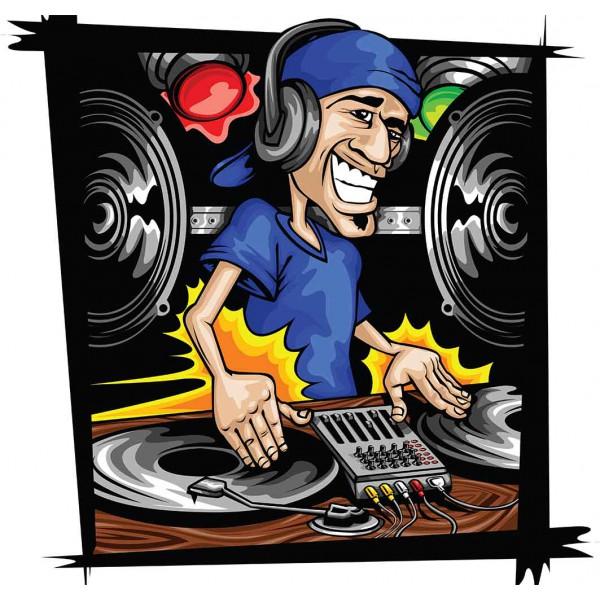 DJ на дискотеке