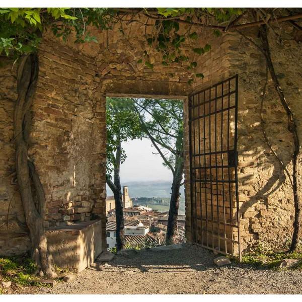 Старая стена в Италии