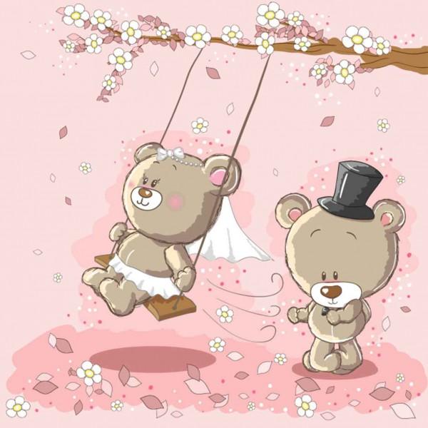Свадьба медвежат