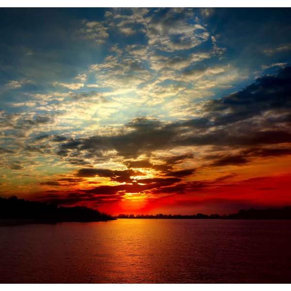 Необычный закат