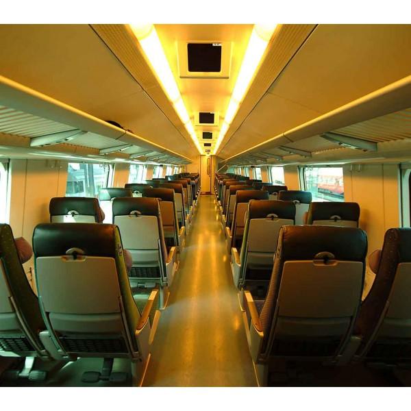 Салон поезда
