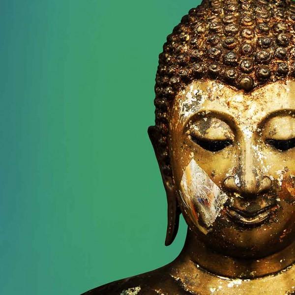 Будда на зеленом