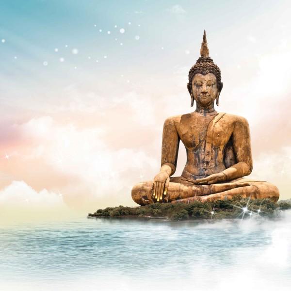 Будда в облоках